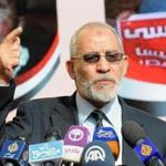 Muslim Brotherhood leader Mohammed Badie.