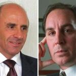 Arthur S. Demoulas (right) is trying to oust his cousin, Arthur T. Demoulas, as CEO of the Market Basket grocery chain.