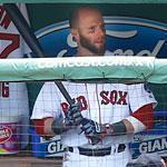 "For Dustin Pedroia the dugout is ""like a second home,"" according to former Red Sox manager Terry Francona."