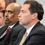 The Medicaid-fraud case against Dr. Punyamurtula Kishore (center) prompted the ruling.