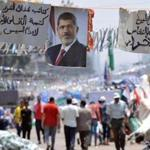 Supporters of Mohammed Morsi (pictured above) are increasingly mistrustful of the current, military-backed leadership.