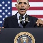 President Obama accused Washington of taking ''its eye off the ball'' and getting distracted from the economy.