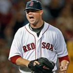 Jon Lester received kudos from David Ortiz — and the Fenway faithful — after giving up two runs in 6 1/3 innings.