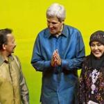 Secretary of State John Kerry met with Brunei's sultan, Hassanal Bolkiah, last October. Kerry has so far said nothing publicly about Brunei's harsh new legal code.