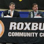 Mayoral candidates John R. Connolly and Martin J. Walsh spoke at a debate hosted by the Urban League of Massachusetts in Roxbury. They have discussed race, a topic that had been considered too controversial for some time.