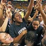 The Fenway girls basketball team had a lot to cheer about this winter, including the school's first city title and a state championship.