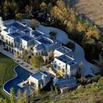 Tom Brady and Gisele Bunchen'sBrentwood estate.