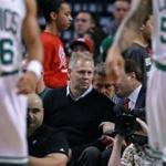 The Celtics' Danny Ainge (above) likes the revolving wheel idea better than the current draft lottery but is open to other ideas. Jim Davis/Globe Staff