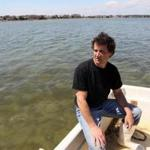 Richard Cook has battled since 2011 to create an oyster harvesting site off Popponesset Island.