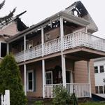 Malden firefighters responded to the fire at 63 Converse Ave. at 5:23 a.m.