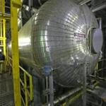Steam is produced by gas-fired boilers at Veolia's Kendall Station.