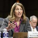 Sylvia Mathews Burwell, President Obama's nominee to become secretary of Health and Human Services, testified Wednesday before the Senate Finance Committee.