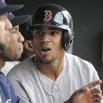 Xander Bogaerts and the Red Sox came home from Minnesota with a 20-20 record.
