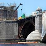 Outside contractors working on the Longfellow Bridge are getting an education in 19th-century engineering.
