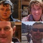 Pictured: (From left, clockwise) Andrew Bridge, 21; James Male, 23; Steve Warren, 52; and Paul Goslin, 56.