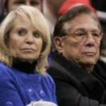 Donald Sterling with his wife, Shelly.