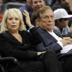 Donald T. Sterling and his wife Shelly attended a Clippers game Nov. 12, 2010.