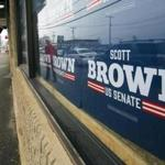 Scott Brown has traded Massachusetts's electorate for New Hampshire's, one far less progressive and openly leery of outsiders.