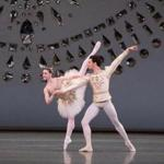 Kathleen Breen Combes and Alejandro Virelles in rehearsal.