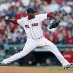 Rubby De La Rosa dominated the Rays, throwing seven shutout innings. (Michael Dwyer/Associated Press)