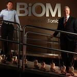 "Brian Frasure, BiOM's director of clinical services, and Timothy McCarthy, its fomer CEO, hope to make the company's prosthetics more broadly available. At $52,000, they aren't cheap. But ""neither is a hip replacement,"" McCarthy says."