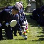 The Boston Fire Department held its 121st Annual Firefighters Memorial Sunday at Forest Hills Cemetery on Sunday.