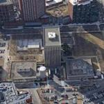 Aerial shot of the 14-acre Volpe Center in Cambridge's Kendall Square.