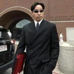 Glenn Adam Chin left court Thursday.