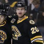 Daniel Paille knows what it's like to be a young player trying to take a veteran's job; now he's on the other end. Barry Chin/Globe Staff