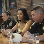 "Padma Lakshmi and Boston emergency responders were featured on the second epidsode of the current season of ""Top Chef."