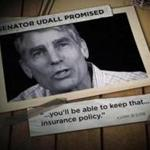 A still from a Crossroads ad attacking Mark Udall. (Crossroads GPS)
