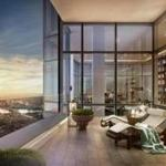 An artist's rendering ot the penthouse on the 60th floor of Millennium Tower, which is being marketed for $37.5 million.