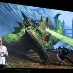 Curt Schilling, former Red Sox pitcher and founder of 38 Studios LLC, unveils the new