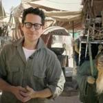 "J.J. Abrams, director of ""Star Wars: Episode VII,"" talked to fans from the movie set in the desert in Abu Dhabi, United Arab Emirates."