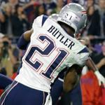 Malcolm Butler's first career interception came at the most opportune time.