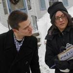 Beth McCullom, right, and Jason Palitsch, Democratic candidate for the 11th Worcester District seat in the House of Representatives, canvassed the Edgemere neighborhood of Shrewsbury.