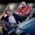 "Ray (left) and Tom Magliozzi are known not just for their advice on ""Car Talk"" but for their contributions to the English language."