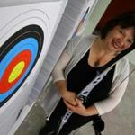 "Donna Ricci: ""My hope is people who don't think they are 'sporty' can find a home in archery."""
