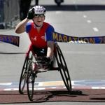 Dr. Cheri Blauwet was the women's wheelchair division winner of the 2005 Boston Marathon. She is also a board member of the Boston 2024 Bid Committee. She says the tenets of the Americans With Disabilities Act do not apply to just a few, but to all of us.