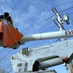 21eversource - An Eversource bucket truck. (Eversource)
