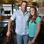 Nathan Sigel owner of Tempo and his girlfriend, general manager Erin Barnicle, are long-time Waltham residents. Josh Reynolds for The Boston Globe (Business, )