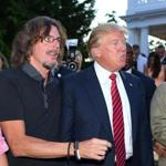 Ernie Boch, Jr. was seen with Donald Trump in August.