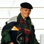 Former priest John J. Geoghan leaving his family home in Scituate in November.