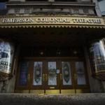 Emerson College's Colonial Theatre is closed for renovations, but its future use remains in question.