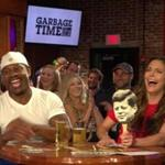 Katie Nolan (right) hosted Garbage Time on FOX Sports 1 at the White Horse Tavern in Allston in Sept. 2015.