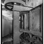 This undated archival photo shows gears of the Northern Avenue Bridge.