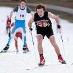 Feb. 2, 2016 - William Rhatigan (cq), a skiier for Newton South, competes in a cross country race on the Weston ski track in Weston, Mass. Rhatigan went on to win his league. Photo Credit: Justin Saglio for the Boston Globe. Section: Special. Slug: 07wenordic(2). Reporter: Eric Russo.