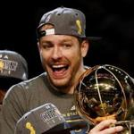 David Lee was not able to join the Warriors for their championship ring ceremony earlier this season.