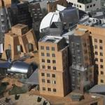 The Stata Center building at MIT.