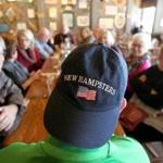 The New Hampsters gathered at the Cracker Barrel in Londonderry on Saturday.